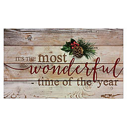P. Graham Dunn Wonderful Time of the Year 14-Inch x 24-Inch Wood Wall Art