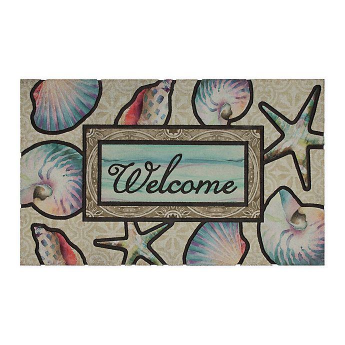 Alternate image 1 for Ocean Dream Welcome Door Mat