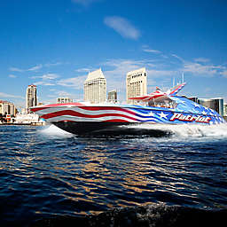 San Diego California Patriot Jet Boat Thrill Ride by Spur Experiences®