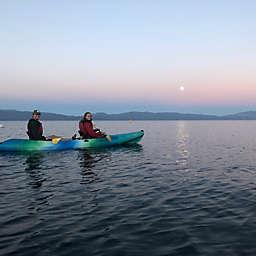 Full Moon Kayak Tour On Lake Tahoe by Spur Experiences®