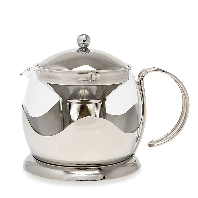 Alternate image 1 for La Cafetiere Stainless Steel Le Teapot