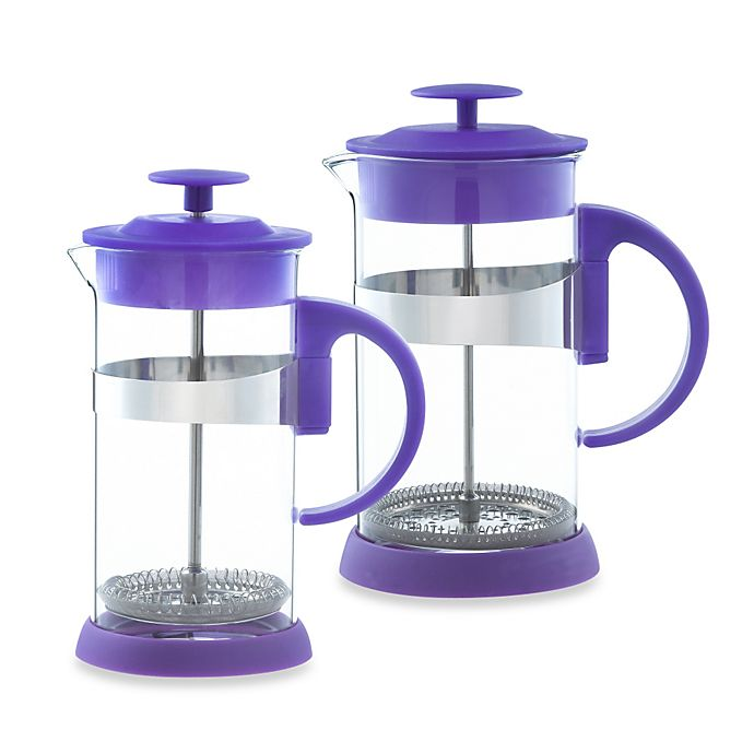Alternate image 1 for Grosche Zurich French Press in Purple
