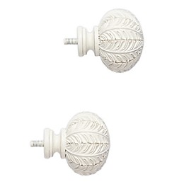 Cambria® Classic Leaf Finials (Set of 2)