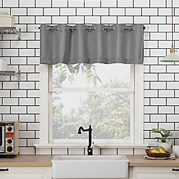No.918™ Dylan Casual Textured 14-Inch Kitchen Curtain Valance
