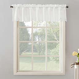 No.918® Mariela Floral Trim Rod Pocket Kitchen Curtain Valance