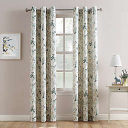 No.918® Marra Floral Print Grommet Window Curtain Panel