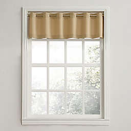 No.918® Montego Casual Textured Rod Pocket Kitchen Curtain Valance