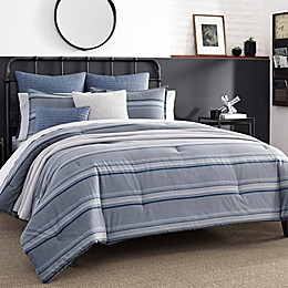 Nautica® Eastbury Duvet Cover Set in Grey