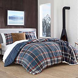 Eddie Bauer® Shasta Lake Comforter Set in Indigo