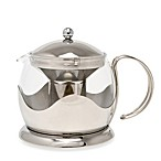La Cafetiere 4-Cup Stainless Steel Le Teapot