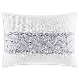 Nautica® Claridge Oblong Throw Pillow in Grey