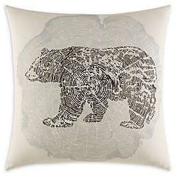 Eddie Bauer Crosscut 20-Inch Square Throw Pillow in Grey