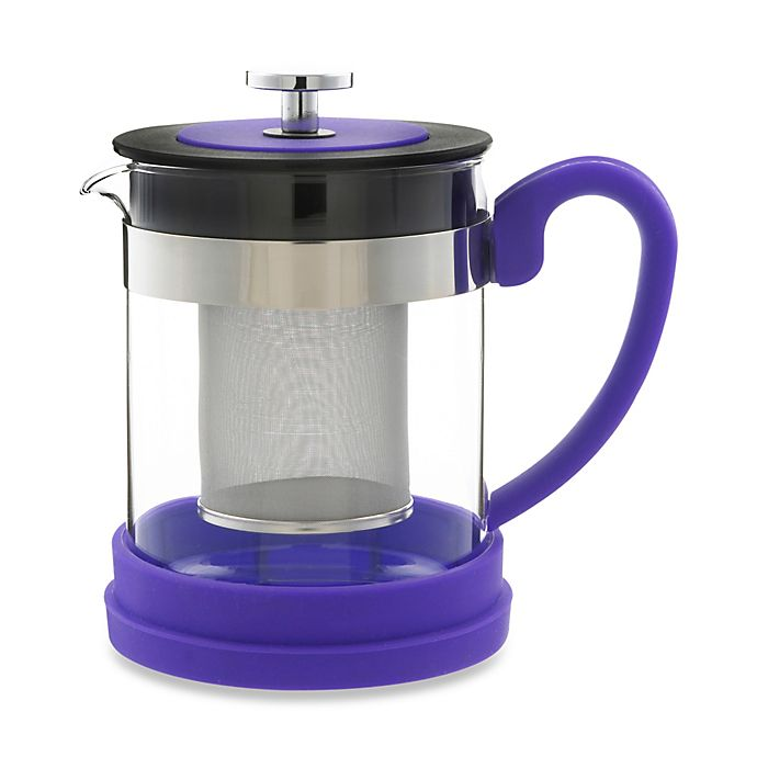 Alternate image 1 for Grosche Valencia 2-Cup Infuser Teapot in Purple