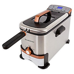 Brookstone® 3.2 qt. Digital Deep Fryer with Oil Filter