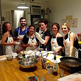 New York Cooking Class and Cookbook by VEBO®