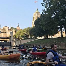 San Antonio River Guided Kayak Trip by VEBO®