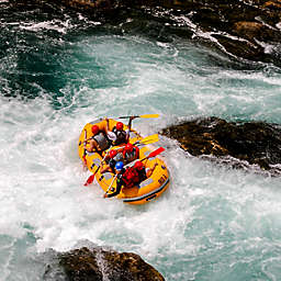 Browns Canyon Half-Day Raft Package by Spur Experiences®