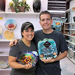 Tampa Florida Fused Glass Class by Spur Experiences®