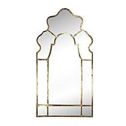 A&B Home Timeless 54.5-Inch x 28-Inch Rectangular Mirror in Gold