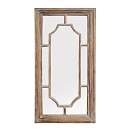 A&B Home Brophey 47.8-Inch x 24.4-Inch Rectangular Wall Mirror in Natural
