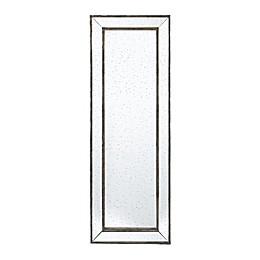 A&B Home Silver Leaf 70.9-Inch x 24.4-Inch Rectangular Wall Mirror