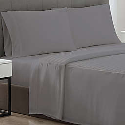 Therapedic® Weighted Cooling 300-Thread-Count Twin XL Sheet in Grey