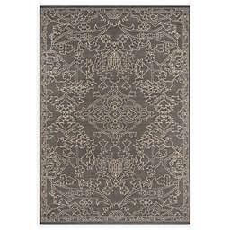 Momeni® 8'6 x 13' Baja Floral Area Rug in Grey
