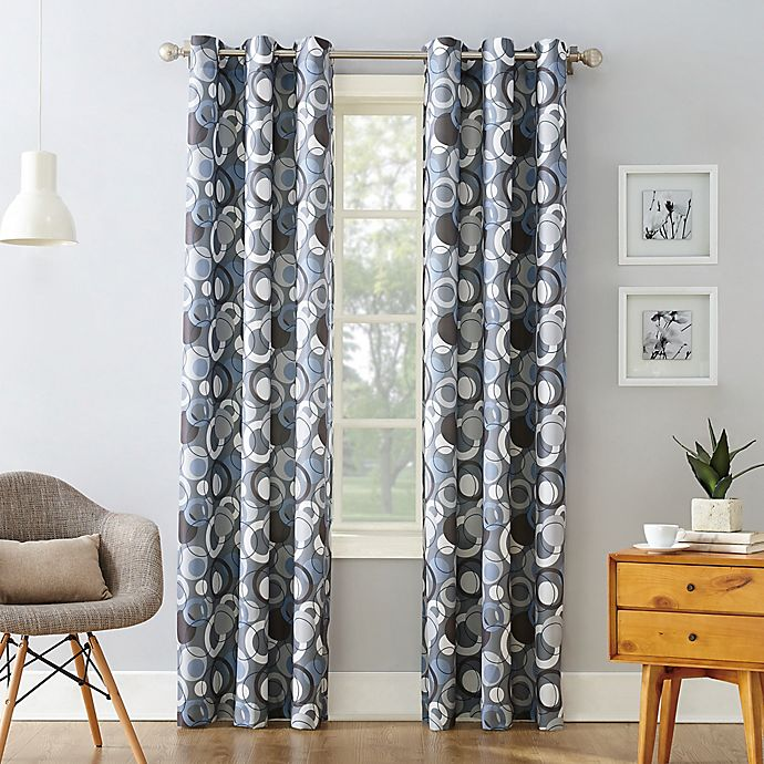 Alternate image 1 for No.918® Julia Celestial Print Grommet Curtain Panel