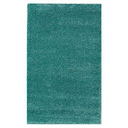 Marmalade™ Solid 3' x 4' Shag Accent Rug in Teal