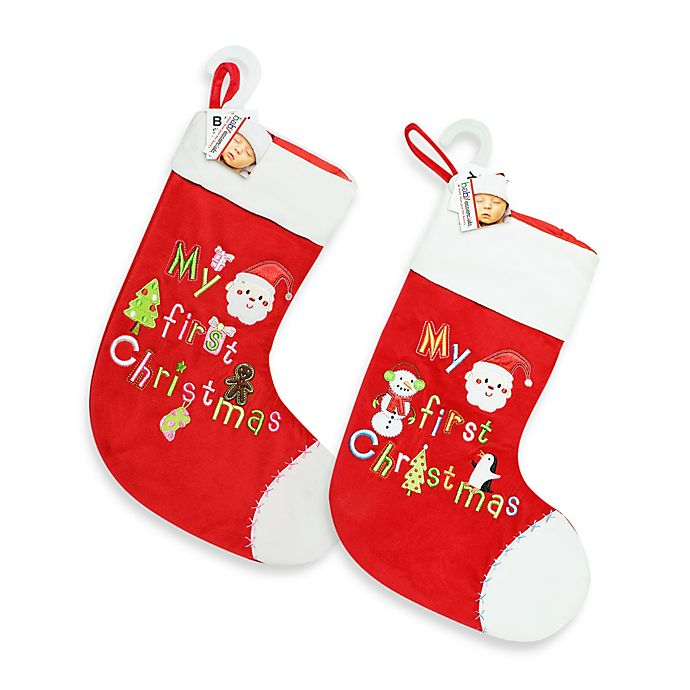 b220f8877 AD Sutton My First Christmas Stocking