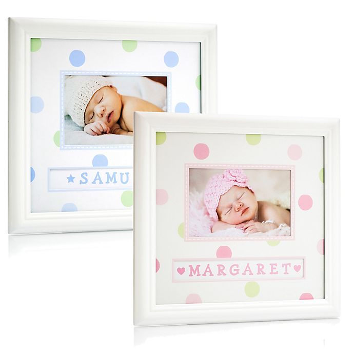 Pearhead Personalized Name Frame | Bed Bath & Beyond