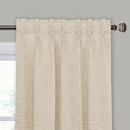 Keith Pinch Pleat/Back Tab Window Curtain Panel