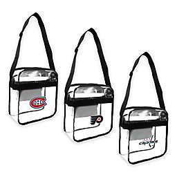 NHL Clear Crossbody Carryall Collection