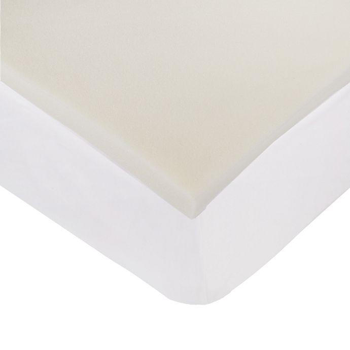 Alternate image 1 for Nestwell™ 1.5-Inch Memory Foam Mattress Topper