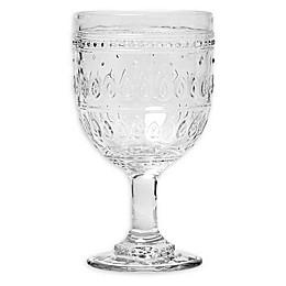 Euro Ceramica Fez Clear Wine Glasses (Set of 4)