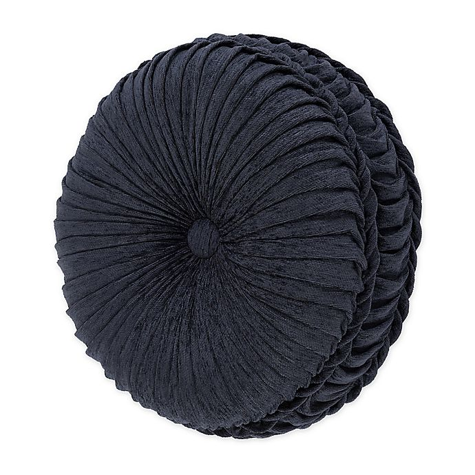 Alternate image 1 for J. Queen New York™ Luciana Round Throw Pillow in Indigo