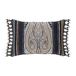 J. Queen New York™ Luciana Oblong Throw Pillow in Indigo