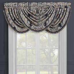 J. Queen New York™ Luciana Rod Pocket Light Filtering Window Valance in Indigo