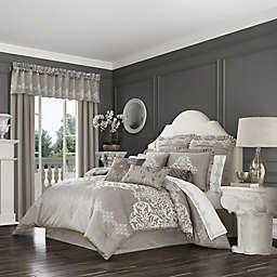 J. Queen New York™ Crestview 4-Piece King Comforter Set in Silver