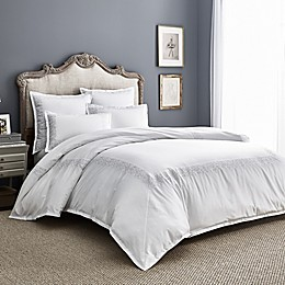 Wamsutta® Justin PimaCott® Embroidered 3-Piece Duvet Cover Set