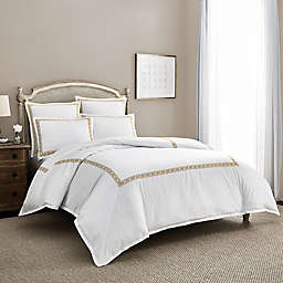 Wamsutta® Muriel PimaCott® Embroidered 3-Piece Duvet Cover Set