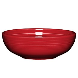 Fiesta® Medium Bistro Bowl in Scarlet