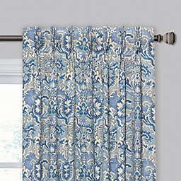 Madrid Pinch Pleat/Back Tab Window Curtain Panel