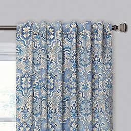 Madrid Rod Pocket/Back Tab Window Curtain Panel (Single)