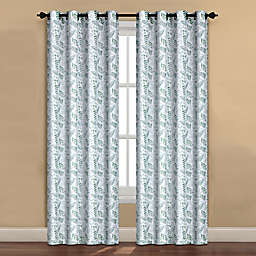 Forest Drape Grommet Window Curtain Panel in Sage