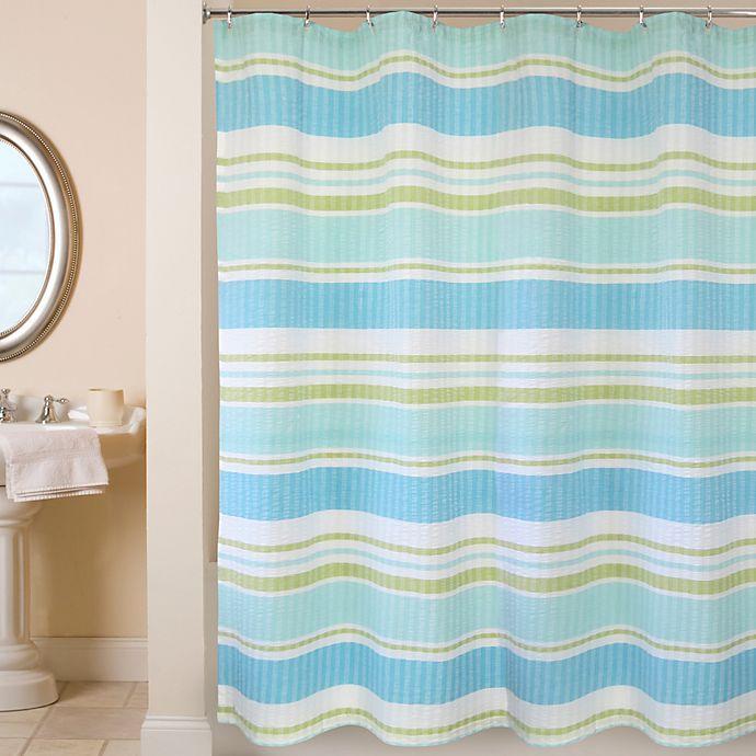 Alternate image 1 for Park B. Smith® Cabana Stripe 72-Inch x 72-Inch Shower Curtain