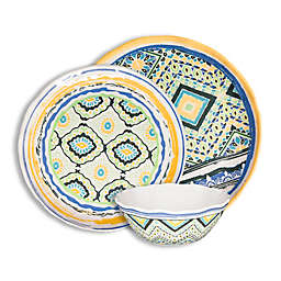 222 Fifth Porto Santo 12-Piece Dinnerware Set