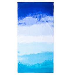 Brookstone® Beach Towel in Blue