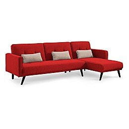 Sealy® Jenna Sectional Sofa Bed