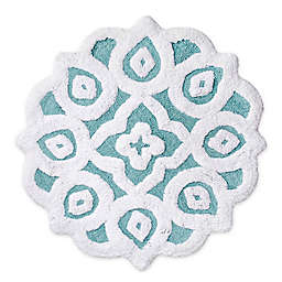 "Capri Medallion 20"" x 30"" Bath Rug"